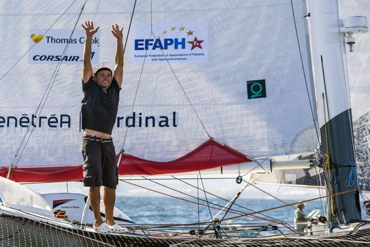 Scoop about Haemochromatosis on the Route du Rhum transatlantic sailing contest