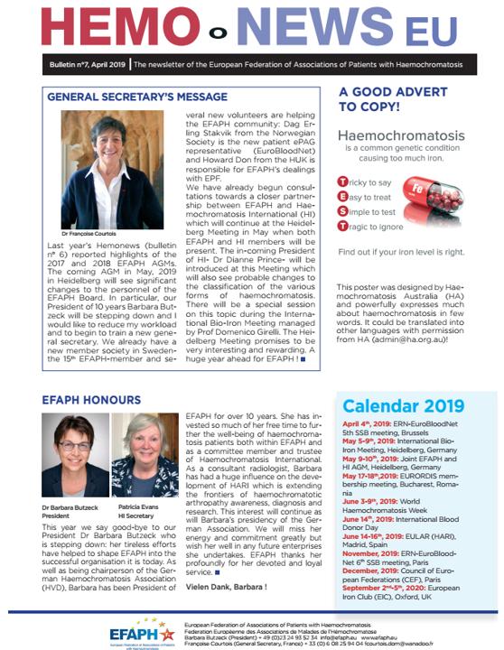 HemoNews   European Federation of Associations of Patients